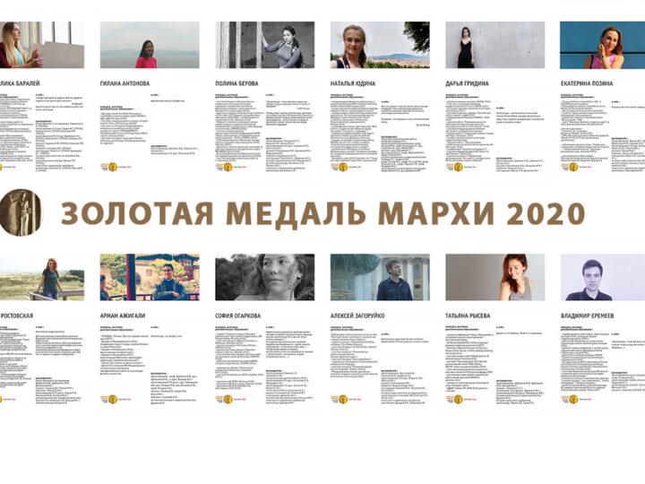 В 2020 году в конкурсе ЗММ участвуют 8 магистров и 8 бакалавров