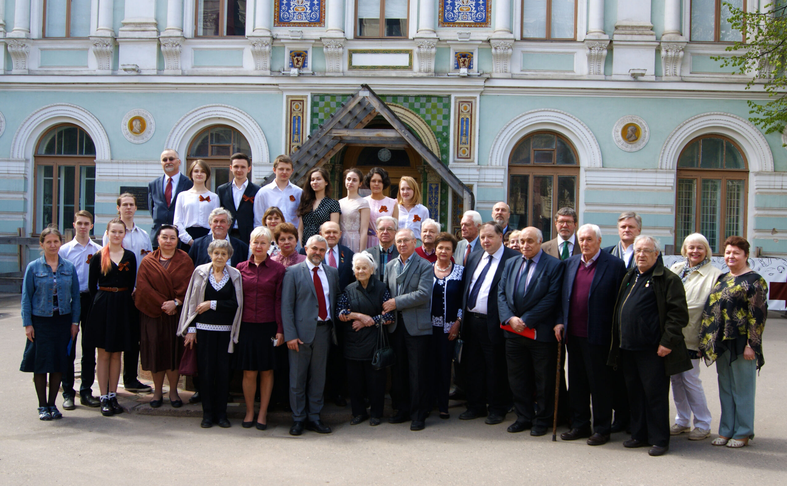 Встреча с ветеранами в МАРХИ в преддверии Дня Победы