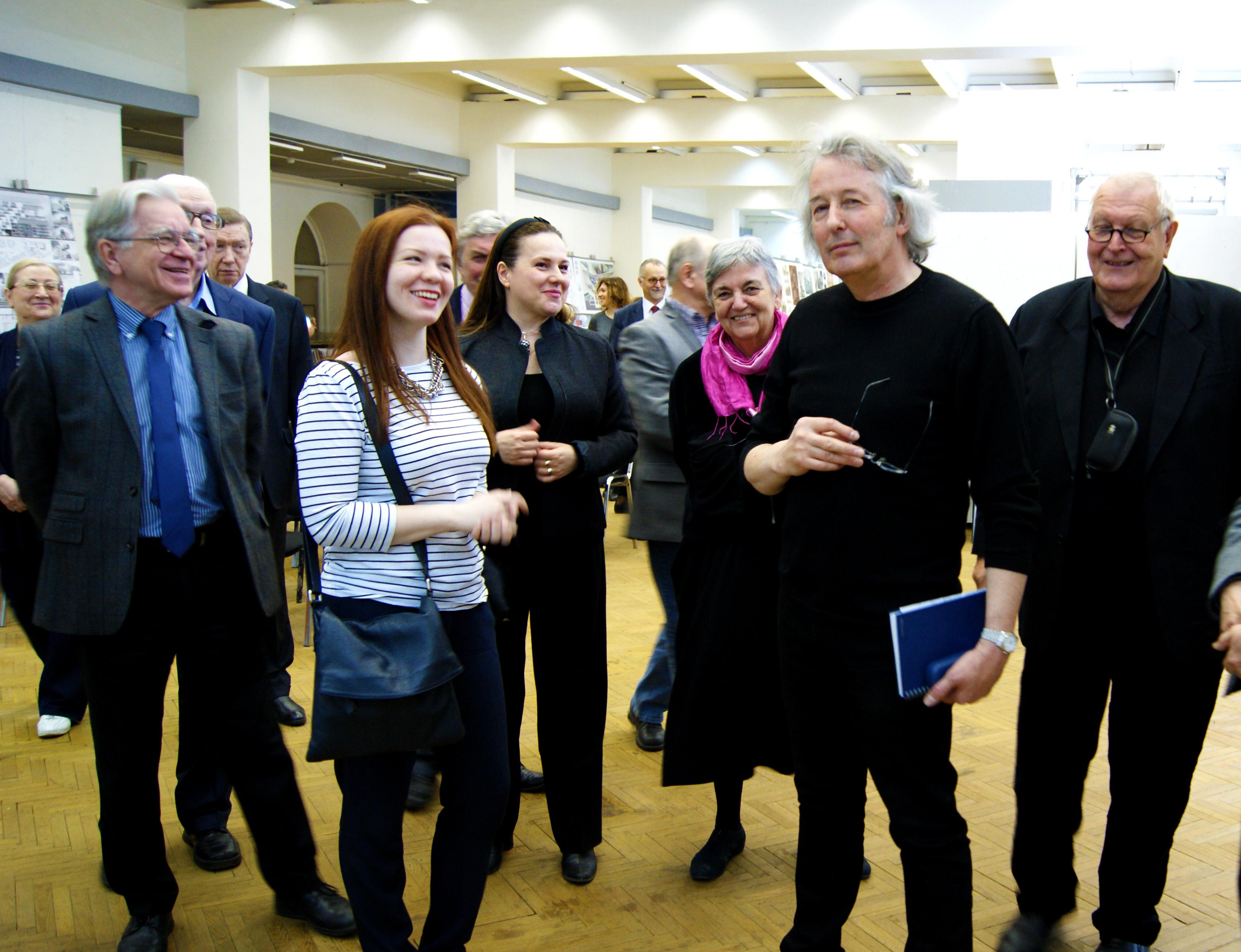 Визит комисcии ЮНЕСКО в МАРХИ