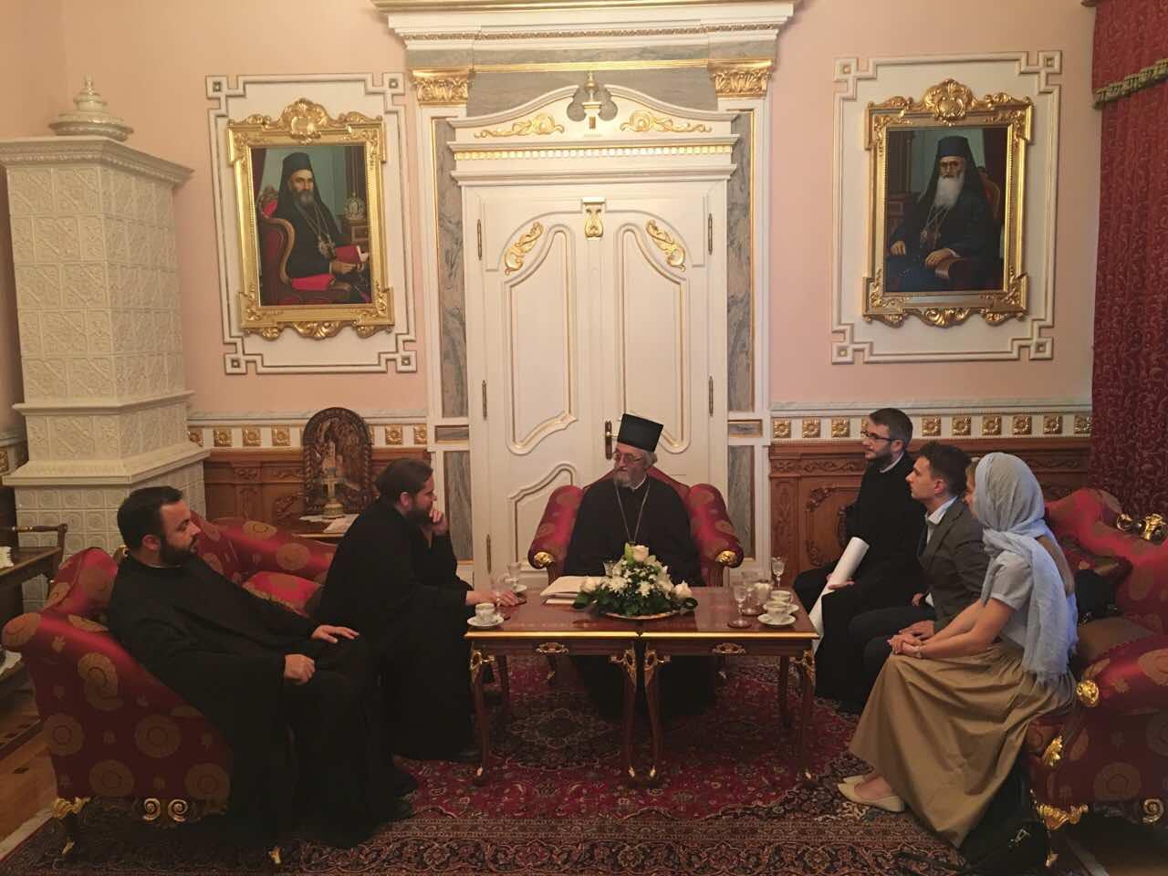 Епископ Банялукский выразил сердечную благодарность ректору МАРХИ