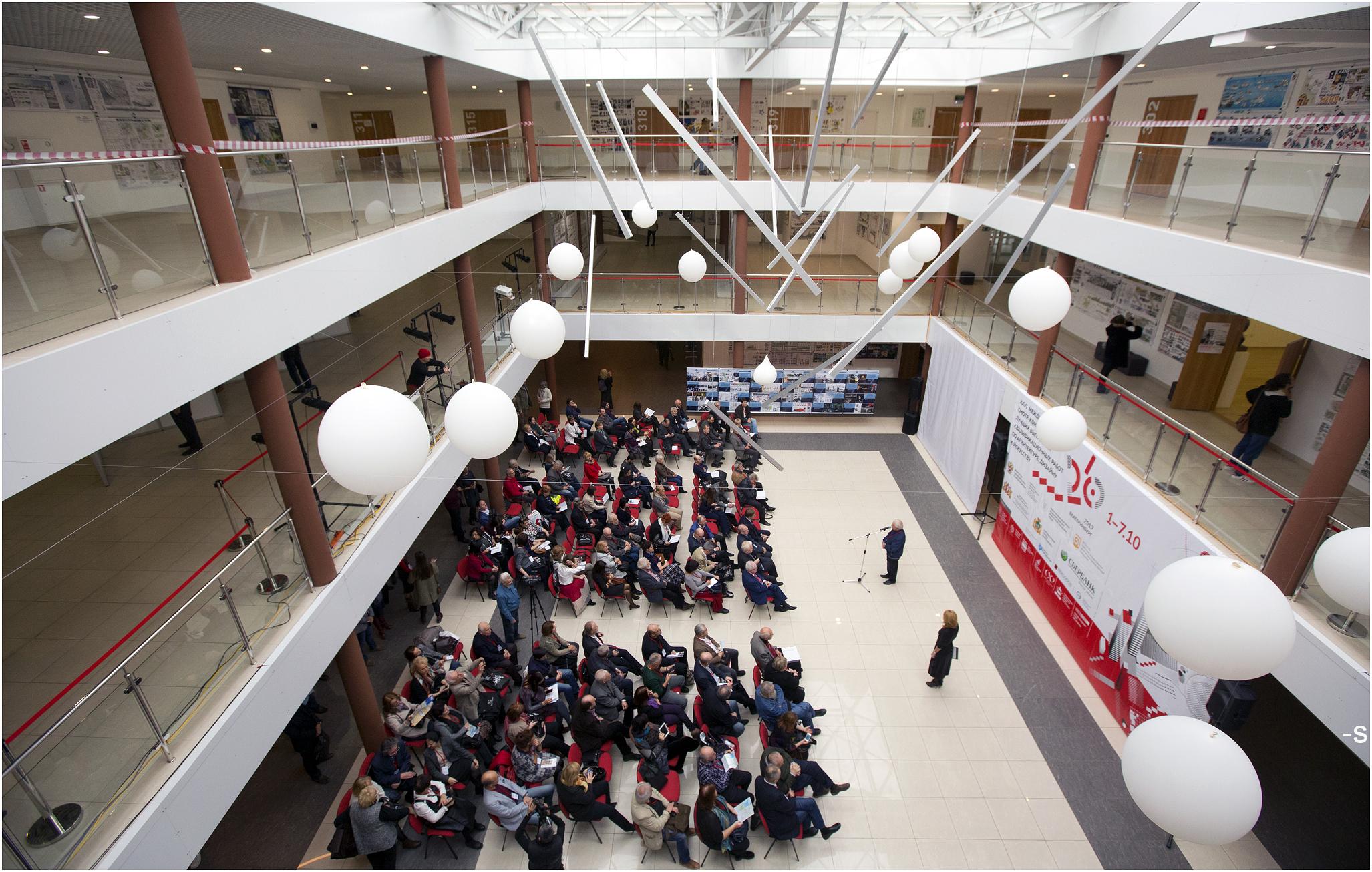 В Екатеринбурге проходит XXVI Международный смотр-конкурс лучших выпускных работ