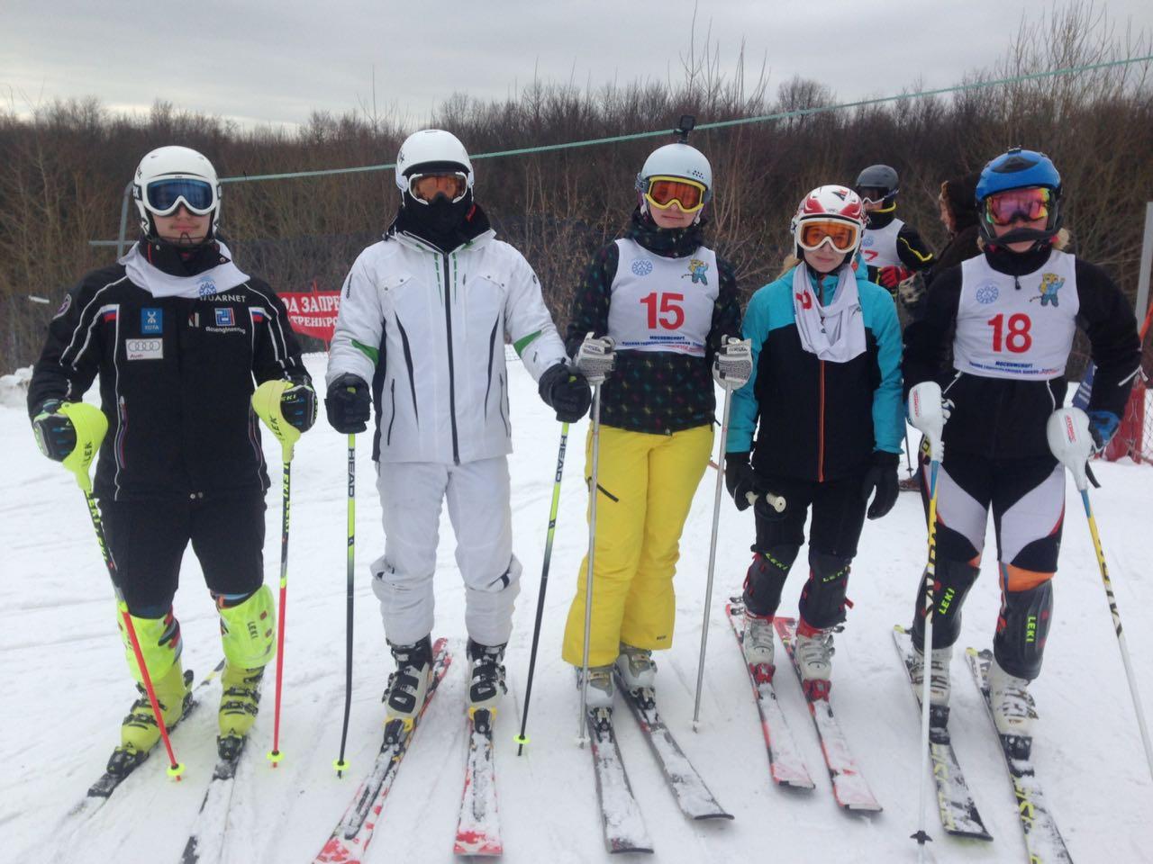 Победа МАРХИ по горнолыжному спорту в программе XXX Московских студенческих спортивных игр