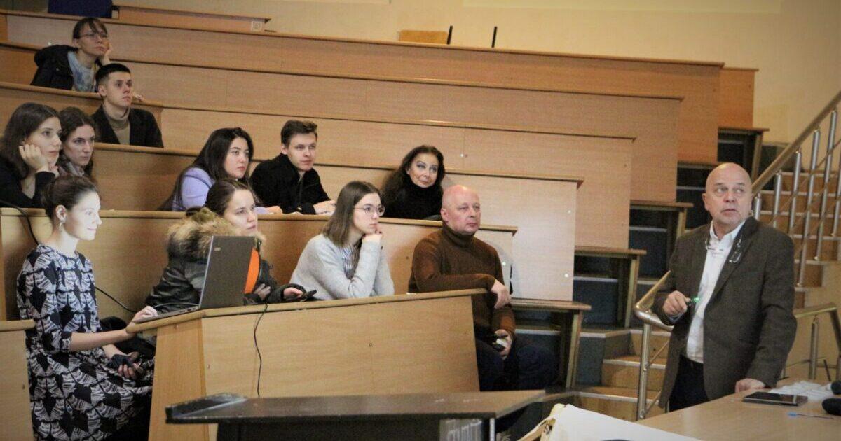 Главный архитектор бюро «Остоженка» Андрей Гнездилов прочел лекцию в МАРХИ