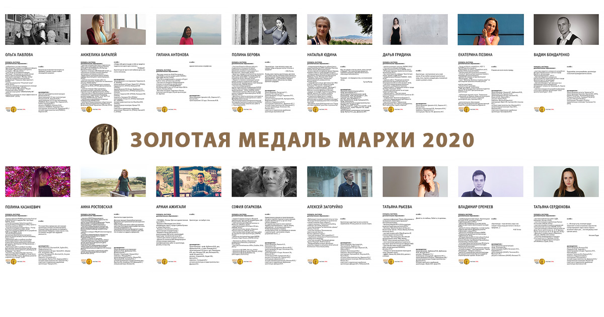 Золотая медаль – 2020