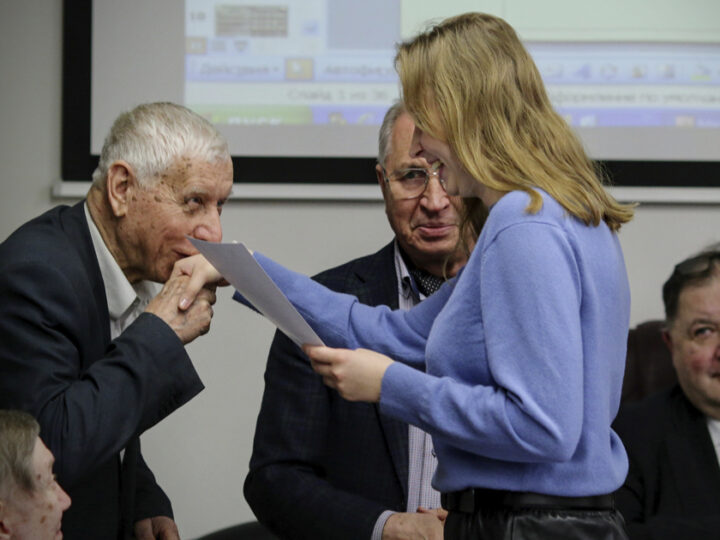 Вручение дипломов студентам МАРХИ — победителям всероссийского конкурса