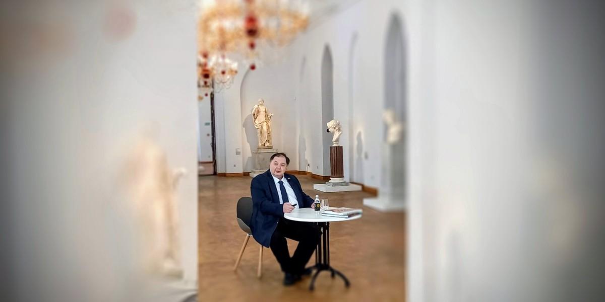 Лекция Д.О. Швидковского в Царицыно