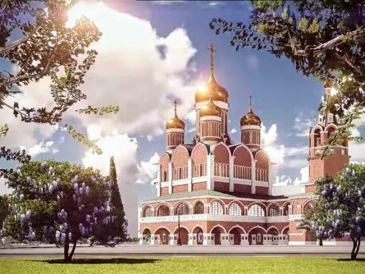 Президент Сербии посетил строящийся сербско-русский храм