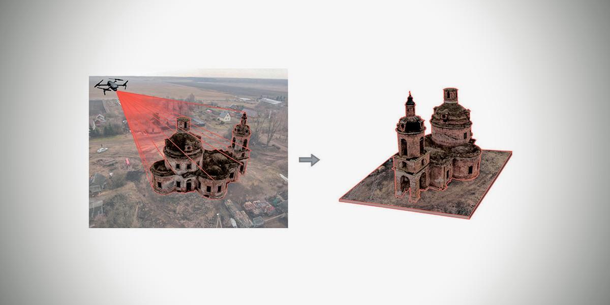 Началась реализация Программы цифрового сканирования аварийных памятников церковной архитектуры