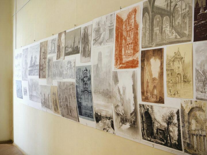 Выставка студенческого рисунка в МАРХИ