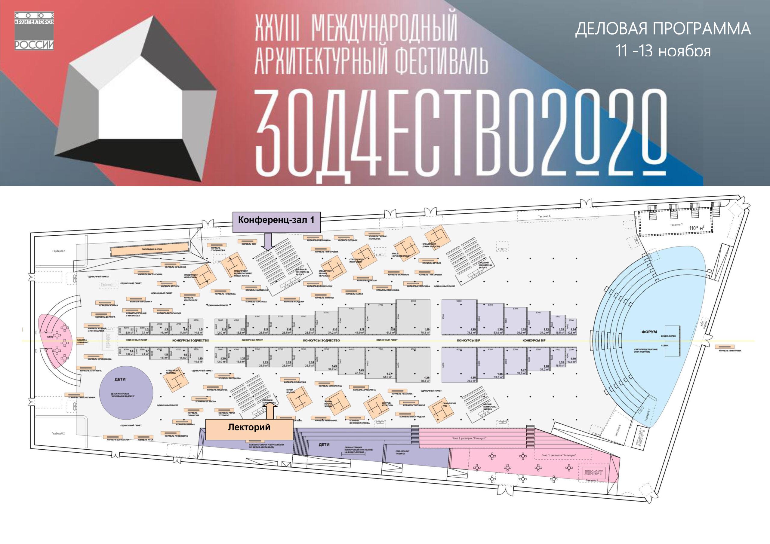 Итоги смотров-конкурсов в рамках фестиваля «Зодчество 2020»