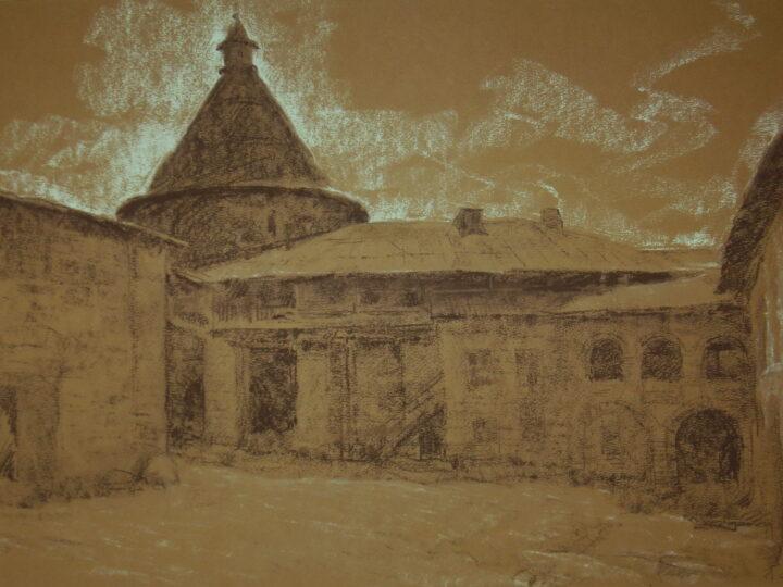 Персональная выставка «Графика. Марина Романова»