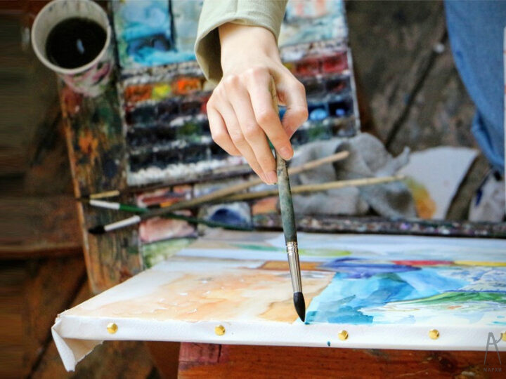 Олимпиада по живописи состоялась