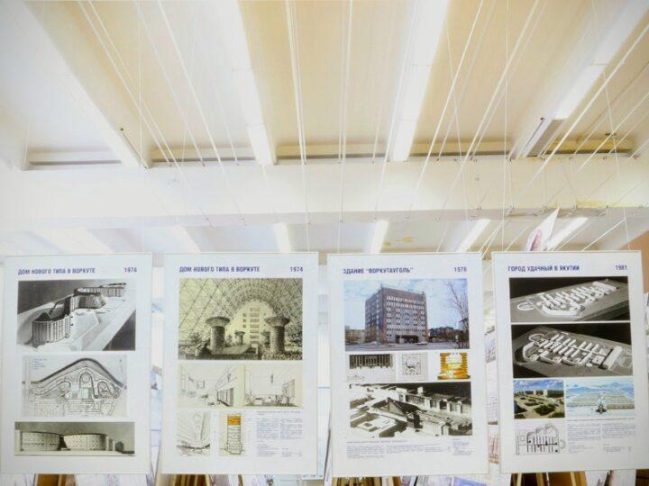 В МАРХИ открыта выставка «Русский путь к архитектуре Севера: 1959-2017»