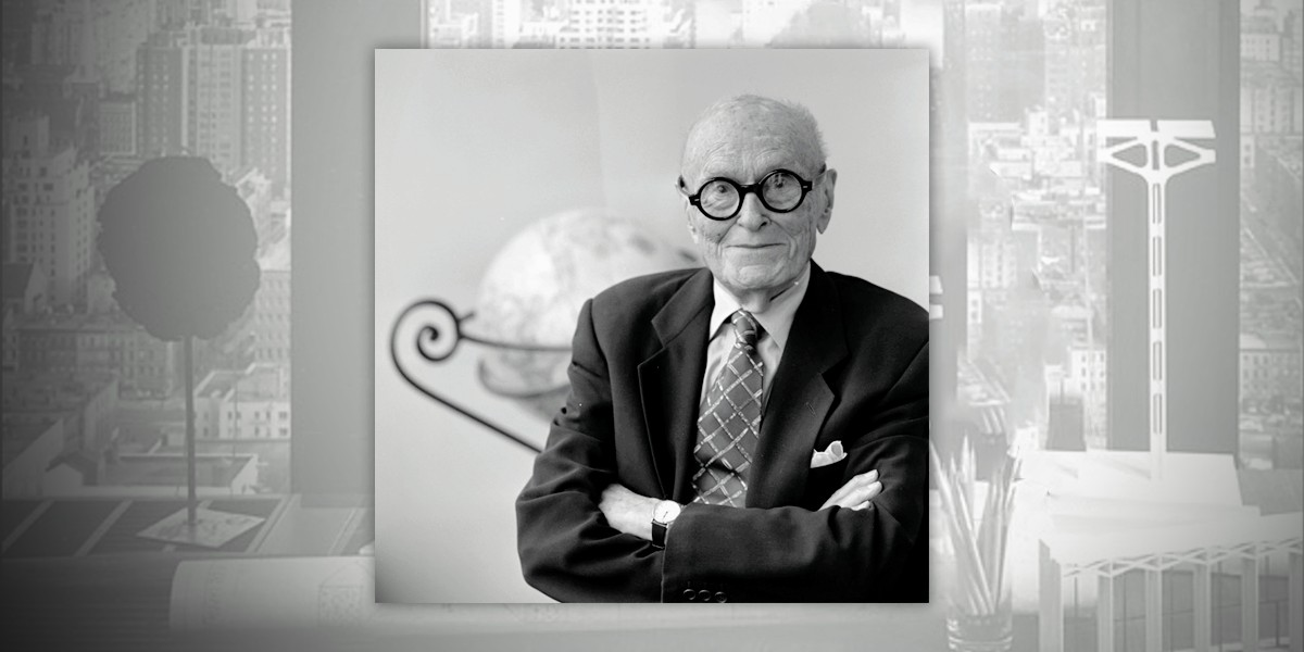 Филип Джонсон — 115 лет