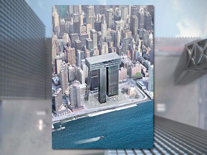 Студент МАРХИ на конкурсе SKYHIVE 2021 Skyscraper Challenge