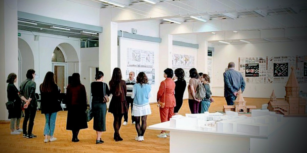 Выставка студенческих работ кафедры «Реконструкция в архитектуре»