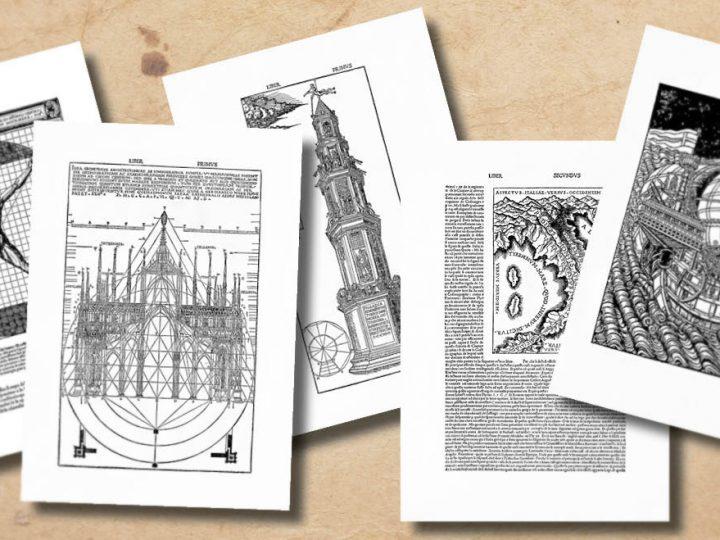 Выставка в МАРХИ: «Витрувий с ломбардским акцентом: Чезаре Чезариано и его издание «Десять книг об архитектуре»