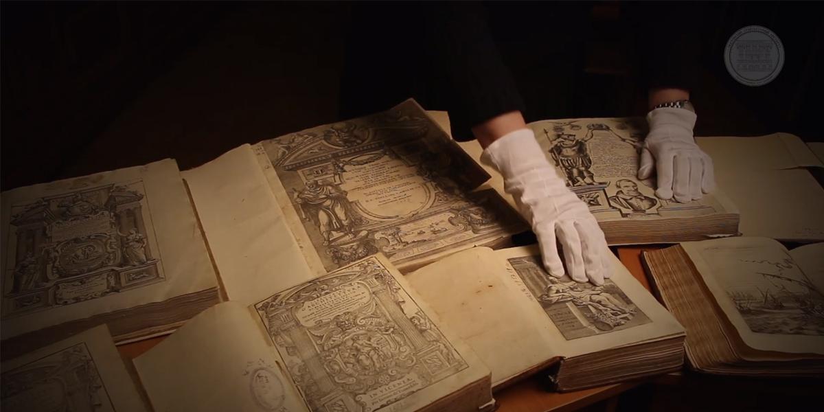 Открытие выставки исторической архитектурной книги