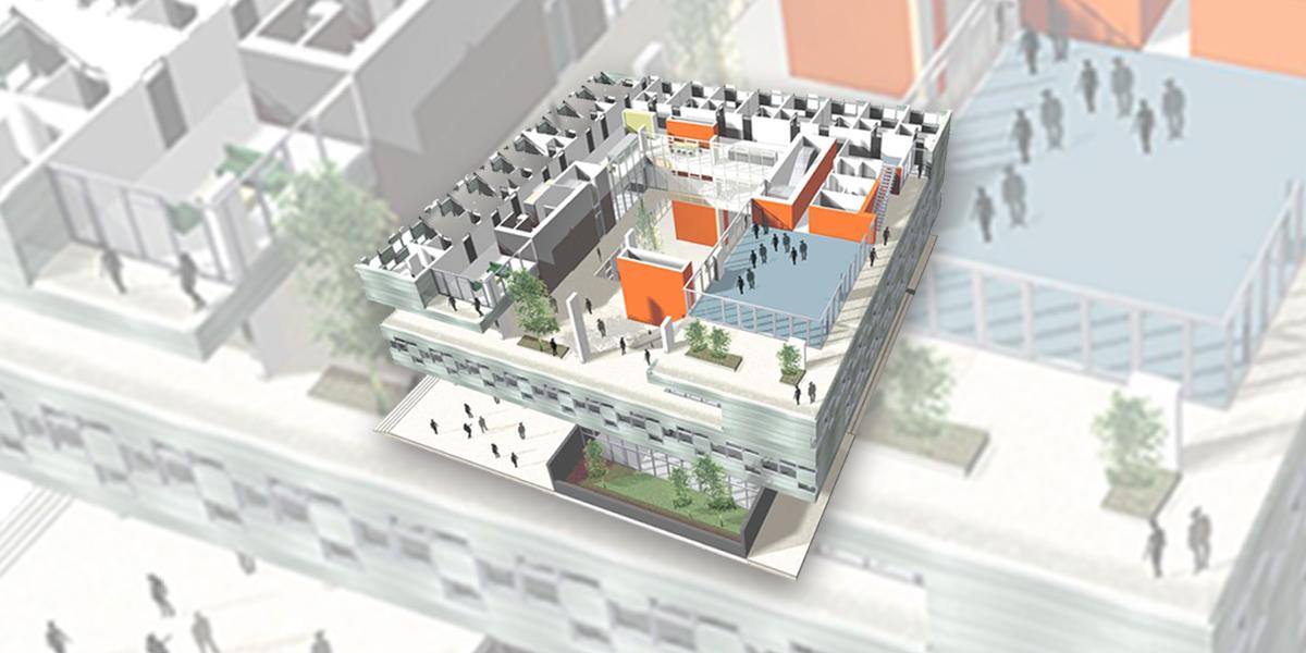 Конкурс на разработку концепции современного студенческого общежития